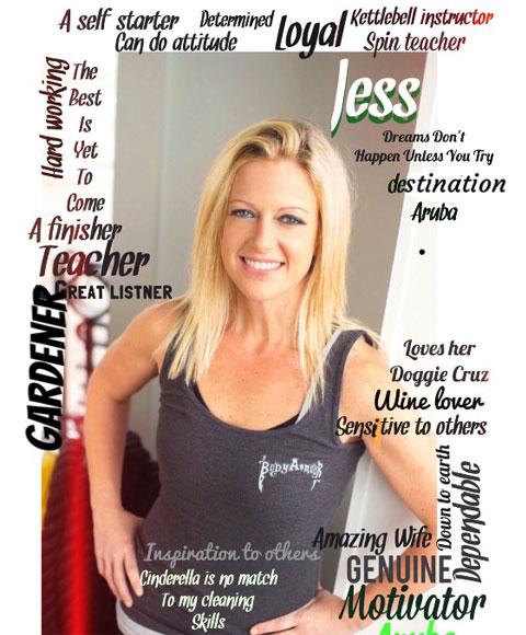 Jessica Vieira, Kettlebell Coach & Spin Instructor