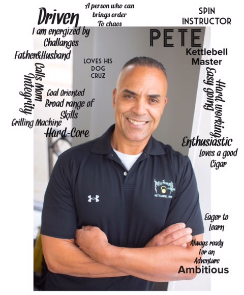 Peter Vieira, Owner, Master Kettlebell Instructor & Spin Instructor